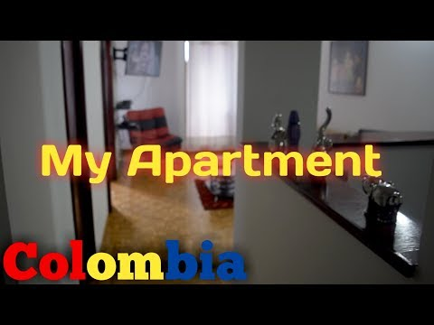 My Apartment in Colombia Medellin
