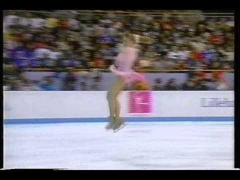 Oksana Baiul UKR  1994 Lillehammer, Figure Skating, Ladies' Free Skate