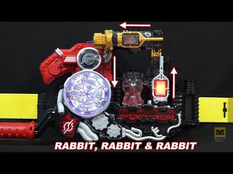 DX Kamen Rider BUILD DRIVER : RABBIT + RABBIT & RABBIT And TANK + TANK & TANK (Normal & Hazard Mode)