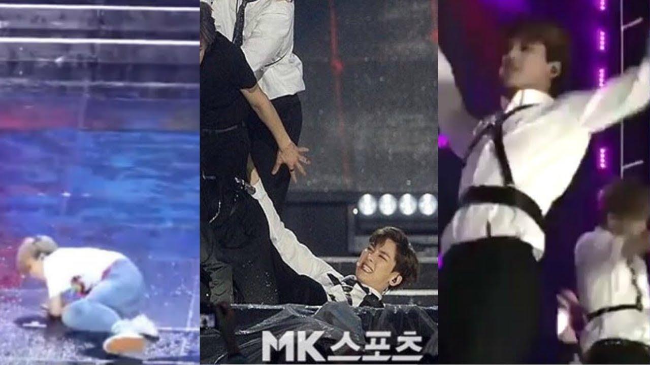 NCT accidents & falls Dream Concert 2018