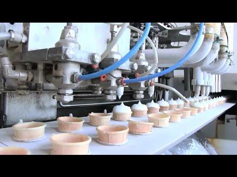 Как делают мороженое в Саратове.Видео