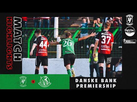 Glentoran Crusaders Goals And Highlights