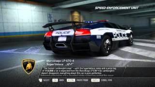 Hot Pursuit - Police cars