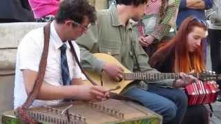 Петрович («Петровичі») - Carpathian Folk Jam Session (Цимбали, #FêteDeLaMusique@Lviv) #FolkRockVideo