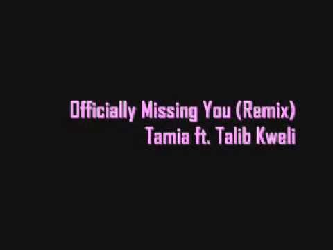 Officially Missing You (Remix) - Tamia ft. Talib Kweli