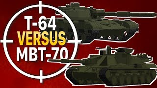 Minecraft Flan's Mod Battles 24: ULTIMATE TANK BATTLE EVENT [PART TWO] (T-64, MBT-70 & MORE!)