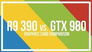 amd r9 390 vs nvidia gtx 980 comparison and benchmarks