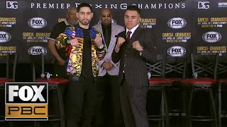 Danny Garcia vs. Adrian Granados final press conference | PRESS CONFERENCE | PBC ON FOX