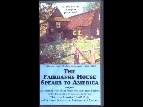 The Fairbanks House Speaks to America