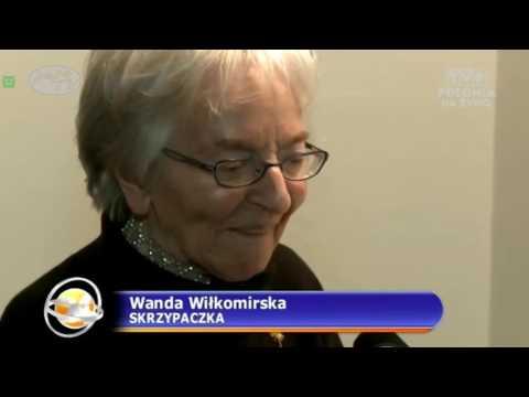 Wanda Wilkomirska - ikona polskiej wiolinistyki - Ikone der Violinspielkunst - TVP Polonia
