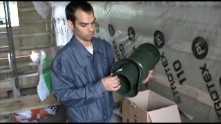 видео Вентиляционный грибок на крышу