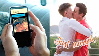 From Grindr to Grooms: Gay Love Story (TIMELAPSE)