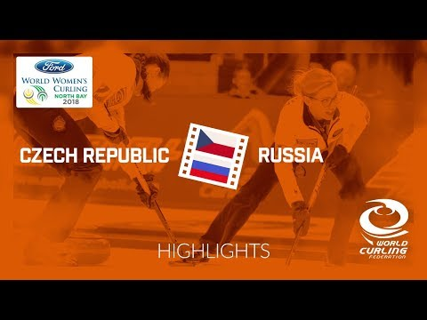 HIGHLIGHTS: Czech Republic v Russia – Qualification – Ford World Women's Curling Championship 2018