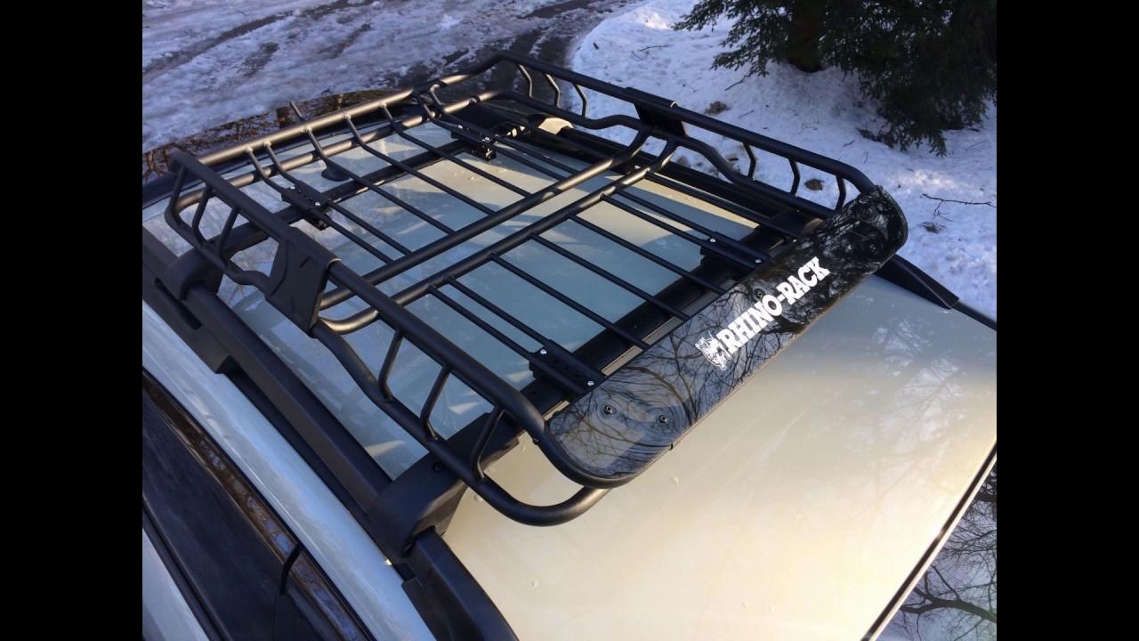 Rhino Roof Racks Subaru Xv - 12.300 About Roof