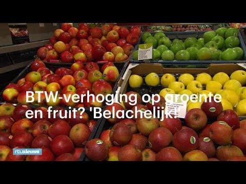 Btw-verhoging op groente en fruit? 'Belachelijk!' - RTL NIEUWS