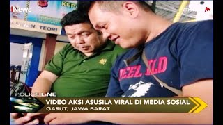 VIRAL! Video Mesum 1 Wanita dengan 3 Pria di Garut, 2 dari 3 Pelaku Ditangkap - Police Line 15/08