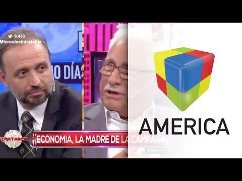 Marangoni-Todesca, duro debate con la economía en el centro de la escena