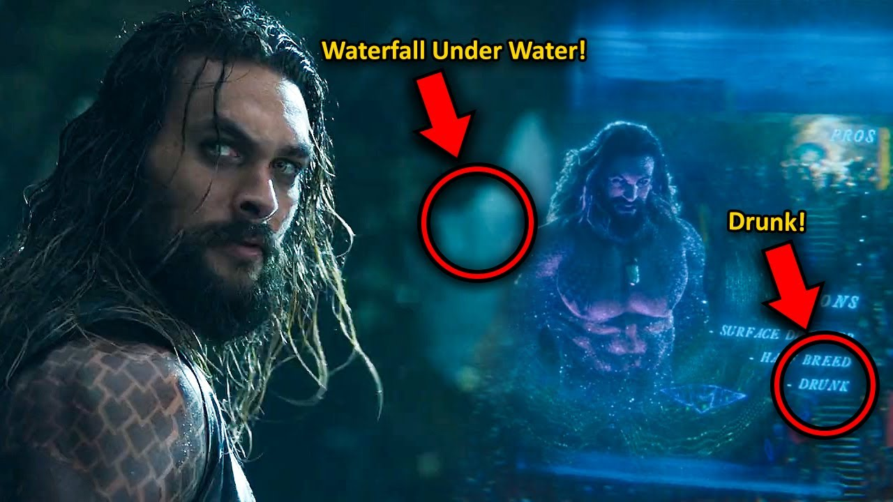 I Watched Aquaman in 0.25x Speed and Here's What I Found