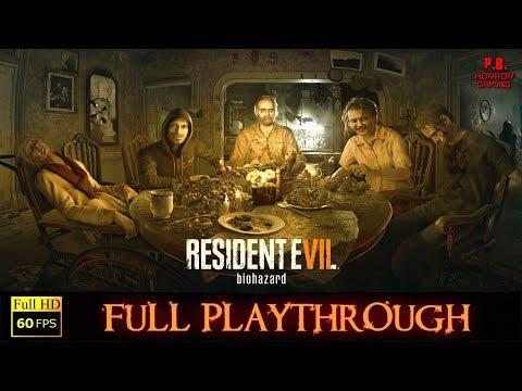 Resident Evil 7 | Full Playthrough | Longplay Gameplay Walkthrough No Commentary 1080P / 60Fps
