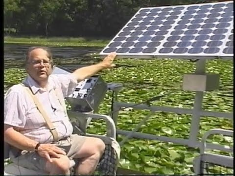 SOLAR POWERED PONTOON BOAT -- MenthaGroup - For The Good