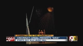 "Cincinnati Opera presents ""Aida"""
