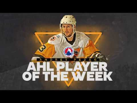 Andrey Pedan - CCM/AHL Player of the Week
