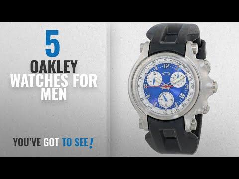 Top 10 Oakley Watches For Men [ Winter 2018 ]: Oakley Men's 10-218 Holeshot Unobtainium Strap