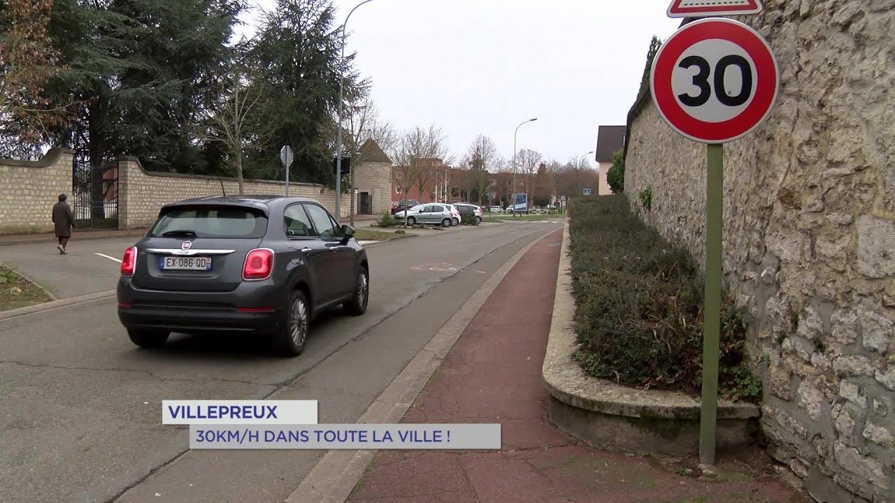 Yvelines | Villepreux : 30km/h dans toute la ville !