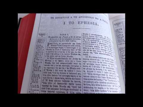 Bible In Cook Island Maori / Te Bibilia Tapu ra: Koia te Koreromotu Taito e te Koreromotu Ou