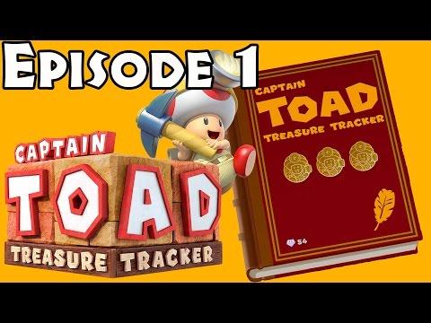 Captain Toad: Treasure Tracker: Episode 1 Complete (100% all gems/bonus objectives/secret goals)