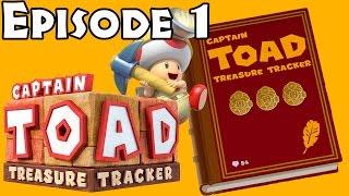Captain Toad: Treasure Tracker - Episode 1 All Levels (All Gems/Bonus Objectives)
