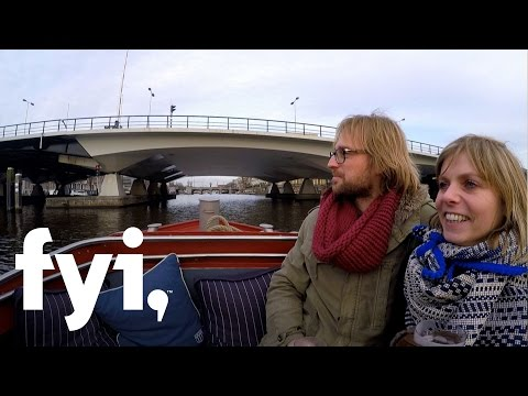 My Floating Home: Rianne and Roy's Amsterdam Float Apartment (S1, E5) | FYI