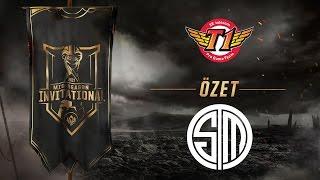 SK telecom T1 ( SKT ) vs Team SoloMid ( TSM ) Maç Özeti | MSI 2017 Grup Aşaması 2. Gün