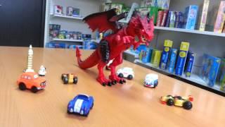 видео Дракон на инфракрасном управлении