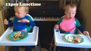 Daily Routine for 17 month Twins