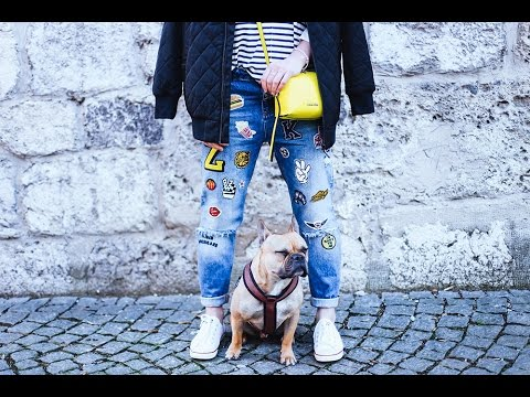 Outfit of the day I Jeans mit Patches I Who is Mocca? Fashion Blog