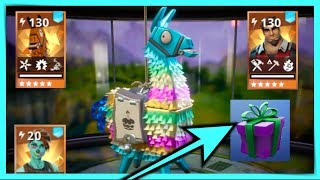 PACK OPENING LAMA ANNIVERSAIRE - FREE CADEAU - FORTNITE SAUVER THE WORLD