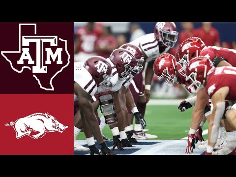 Texas A&M Arkansas Football