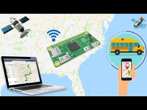 Build your own GPS tracking system-Raspberry Pi Zero W 2018