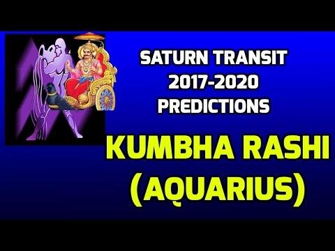 Kumbha Rashi Shani Transit Predictions 2017-2020 | Aquarius Saturn