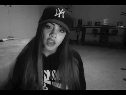 RAP ABOUT LOVE AND HEARTBREAK! MUST WATCH! everyday all gone by Ciara Cruz