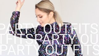 Party Outfits - Weihnachtsfeier, Silvester - Lookbook | funnypilgrim
