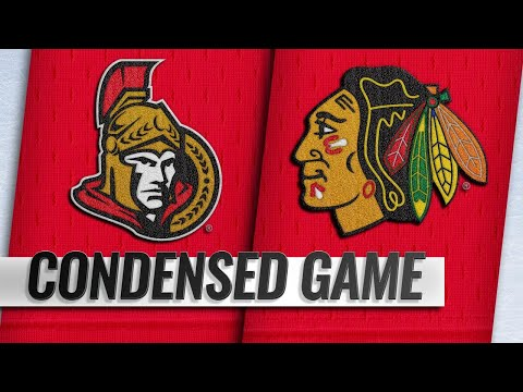 02/18/19 Condensed Game: Senators @ Blackhawks