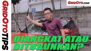 Wiper Saat Parkir Diangkat Atau Diturunkan | GridOto Tips