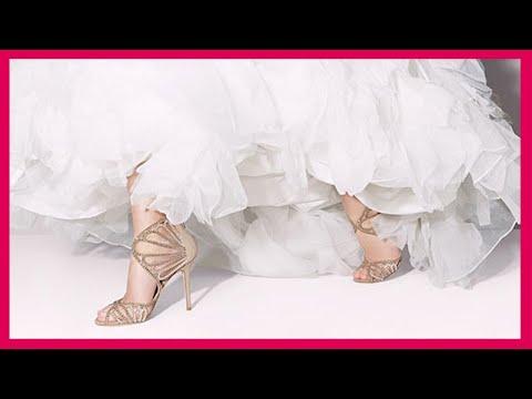 أجمل أحذية زفاف للعروس - احدث صيحات احذية الزفاف فى 2017 - بالصور احدث واشيك احذية زفاف