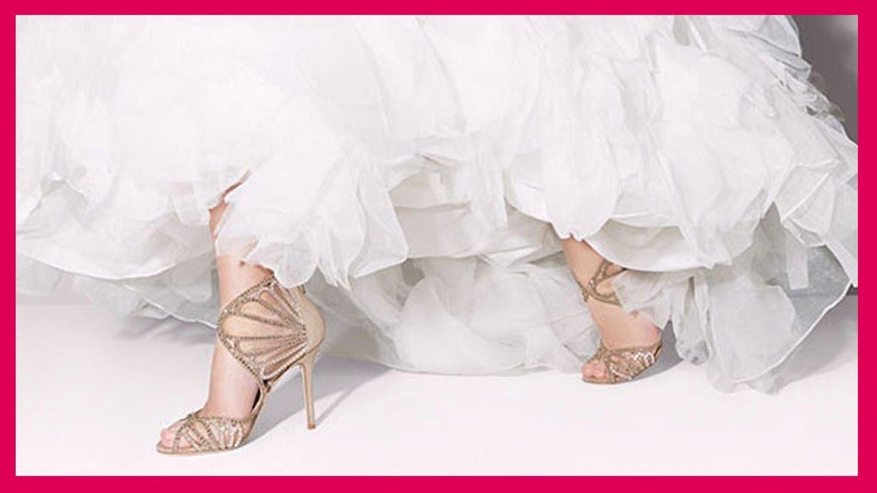 bb3ddf6281329 أجمل أحذية زفاف للعروس