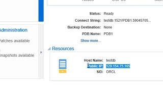 Oracle Cloud Database Release 2 on Oracle Cloud