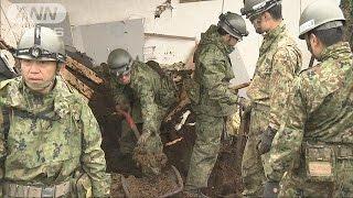 熊本や大分で14日から相次いでいる強い地震で、熊本県ではこれまでに合...