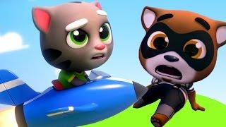 Кот Том бег ЗА ЗОЛОТОМ Детский канал Игровой мультфильм для детей игра мультик Говорящий котенок