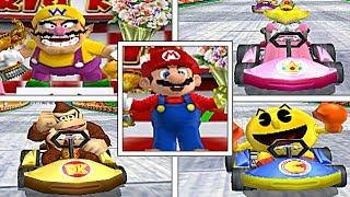 Mario Kart Arcade GP: All WINNING & LOSING Animations